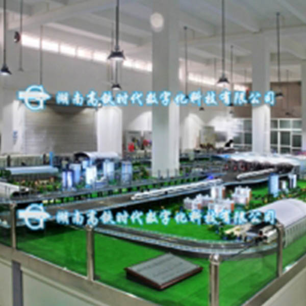 广东江门列车综合运输系统