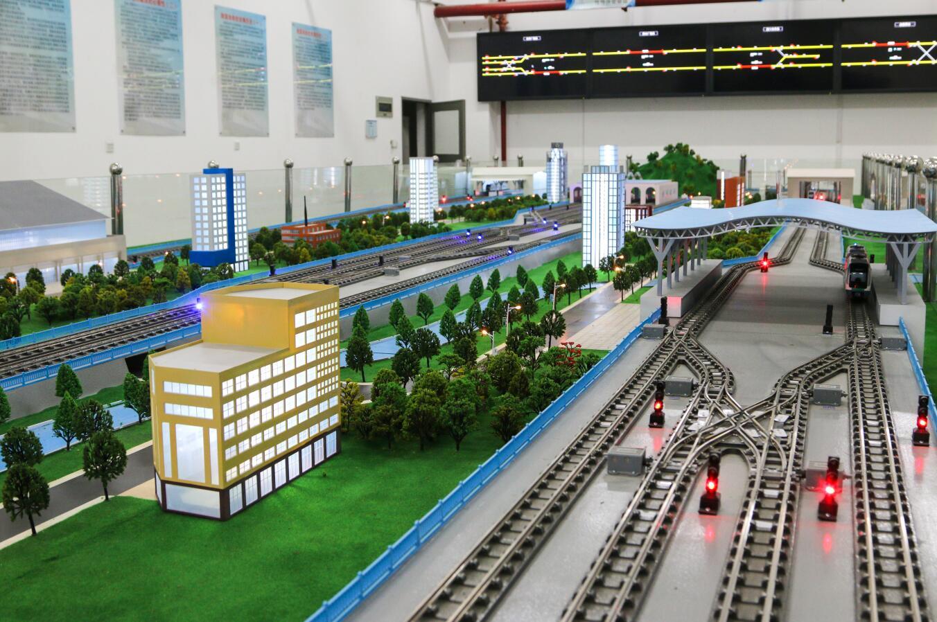 漯河轨道交通自动控制沙盘