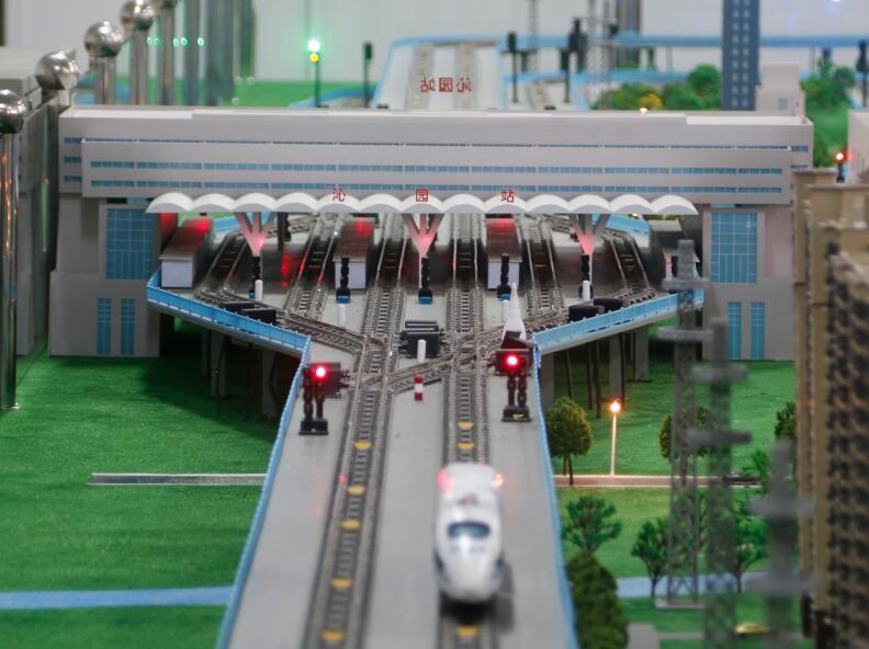 铁路客运专线(高铁)运营沙盘系统