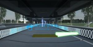城轨交通信号虚拟教学实训系统